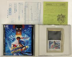 Street Fighter II Champion Edition (PCE HuCARD)