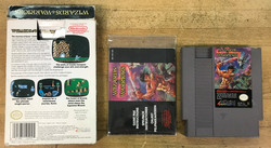 Wizards & Warriors (NES PAL-B/SCN)