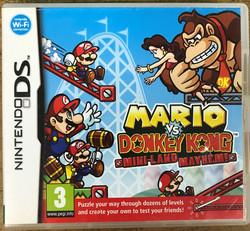 Mario vs. Donkey Kong Mini-Land Mayhem! (NDS)
