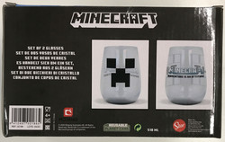 Minecraft 2 juomalasin lahjapakkaus