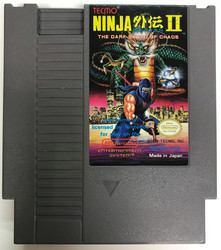 Ninja Gaiden II: The Dark Sword of Chaos (NES USA)