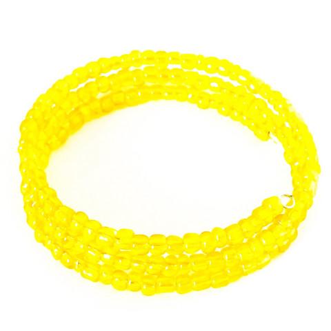 keltainen vaijeri rannekoru