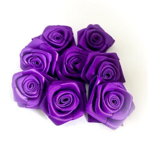 satiiniruusu violetti 8kpl/pakkaus