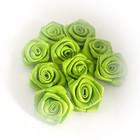 satiiniruusu vihreä 10kpl/pakkaus