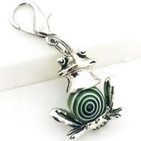 sammakko avain / laukkukoru valkoinen vihreä