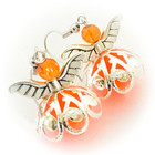 pitsihelmakeiju korvakorut oranssi