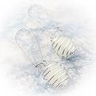 helmi spiraali kehikossa valkoinen