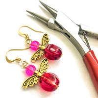 punaista & pinkkiä keijut kulta