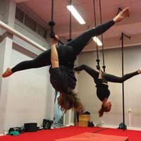 Ilma-akrobatian alkeet Kamppi 24.3.-26.5.2021