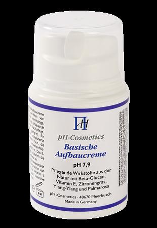 Emäksinen rakentava voide pH 7,9