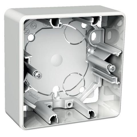 1-osainen korkea pintakojerasia, Schneider Electric