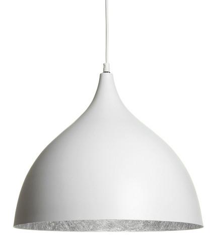 Luvia riippuvalaisin, valkoinen-hopea