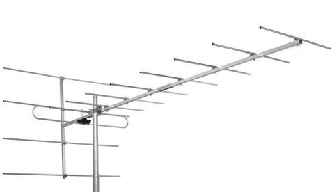 Finnsat VHF-antenni 13elem. VHFIII, 13dBi, (E5) 147-230MHZ (E12)