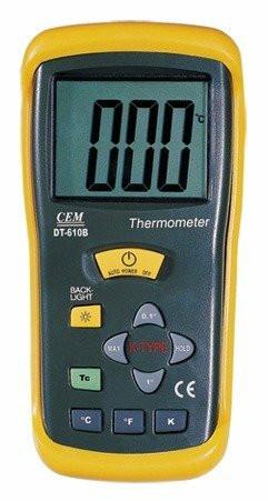 CEM DT-610B lämpötilamittari
