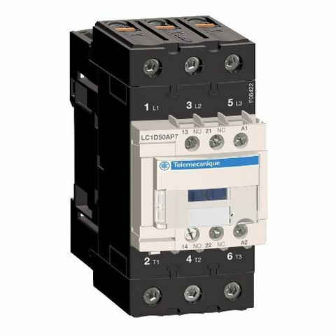 Kontaktori TeSys - LC1D50AP7 - Schneider Electric