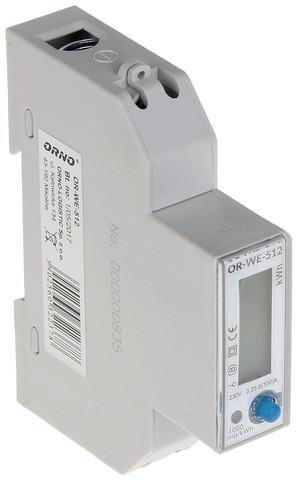 Sähköenergiamittari OR-WE-512