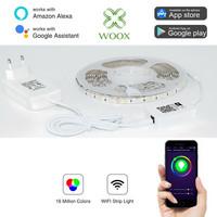 WiFi LED-nauha 5m RGB+WW - WOOX