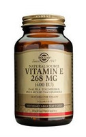 Vitamin E 268mg 50kaps, Solgar