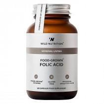Folic Acid 30 kaps, Wild Nutrition