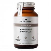 Iron Plus 30 kaps, Wild Nutrition
