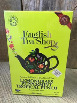 Sitruunaruoho-piparminttu, English Tea Shop