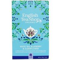 Mustikka, seljankukka valkoinen tee, English Tea Shop