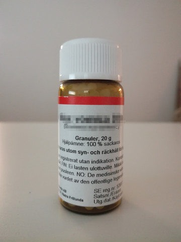 Hepar sulfuris D12, DCG