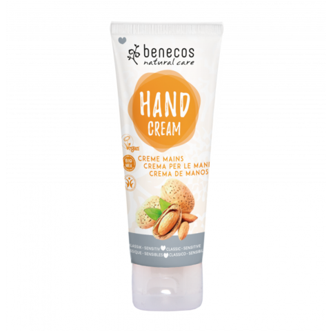 Käsivoide sensitive 75ml, Benecos