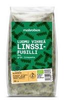 Luomu vihreä linssifusilli 250 g, Makrobios