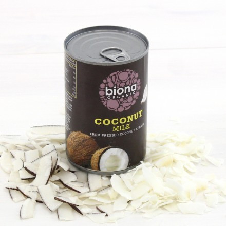 Kookosmaito 400ml, Biona