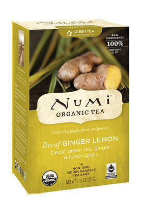 Decaf ginger Lemon, Numi