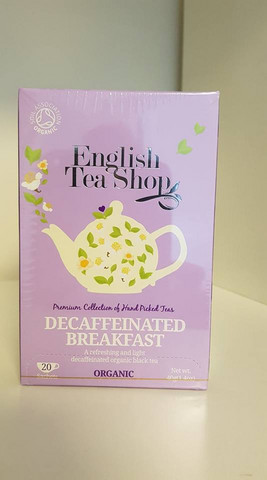 Decaffeinated Breakfast, English Tea Shop