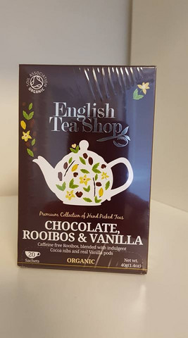 Chocolate, Rooibos & Vanilla, English Tea Shop