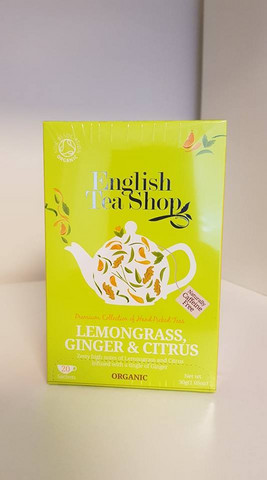 Lemongrass, Ginger & Citrus, English Tea Shop