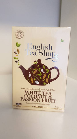 White Tea Coconut & Passion Fruit, English Tea Shop