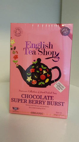 Chocolate Super Berry Burst, English Tea Shop