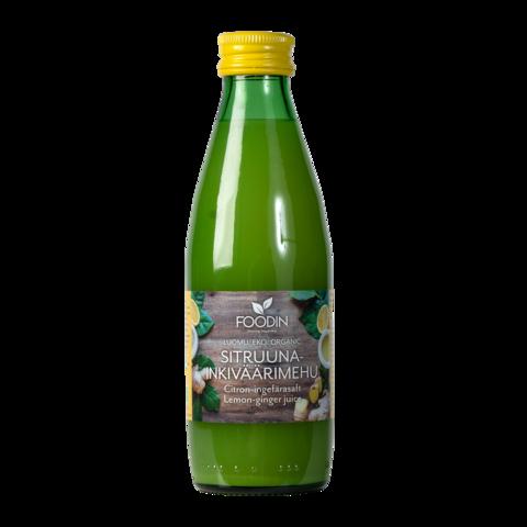 Sitruuna-inkiväärimehu250ml, Foodin