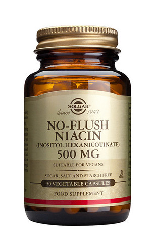 No-flush niacin 500mg, Solgar