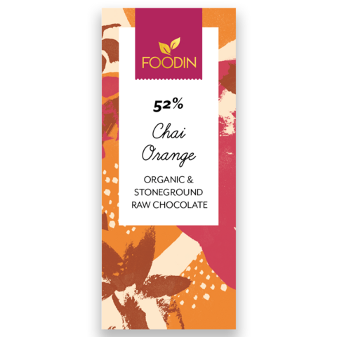 Chai orange 52%, Foodin