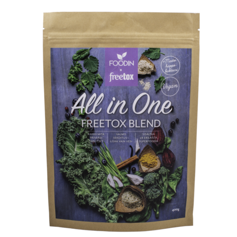 All in one freetox blend 400g, Foodin