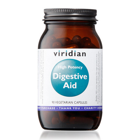 Digestive Aid 90kaps, Viridian