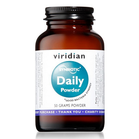 Synbiotic Daily Powder 50g, Viridian
