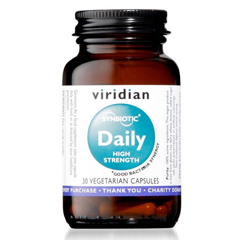 Synbiotic Daily High Strength 30kaps, Viridian