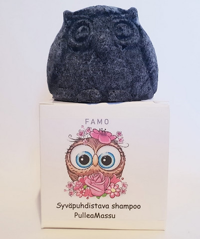 Syväpuhdistava shampoo Pullea Massu, Famo