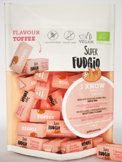 Luomu toffee 150g, Superfudgio