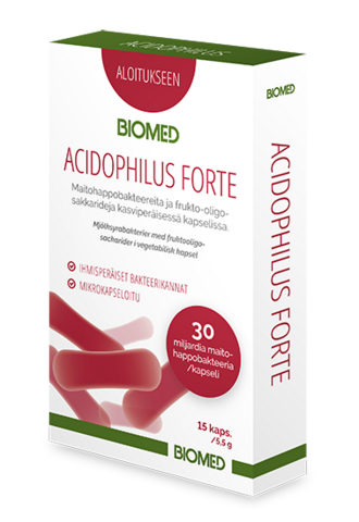 Acidophilus Forte 15kaps, Biomed
