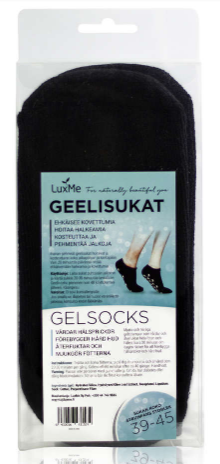 Geelisukat musta 39-45 1pr, LuxMe