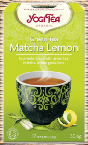 Matcha Lemon, Yogi