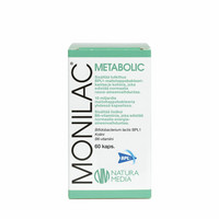 Monilac Metabolic, 60 kaps, Natura Media