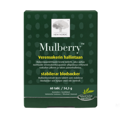 Mulberry 120 tabl, New Nordic